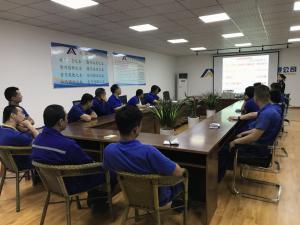 河南民生特种装备有限公司员工进行消防培训